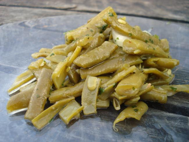 Grüne- Bohnen- Salat