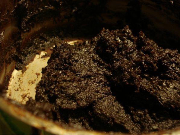 Schokoladenmasse nach dem Kochen