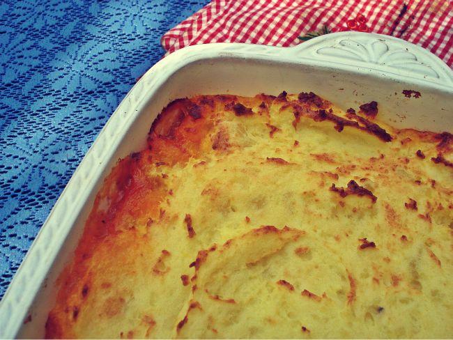 Shepherds Pie mit Kartoffelkruste