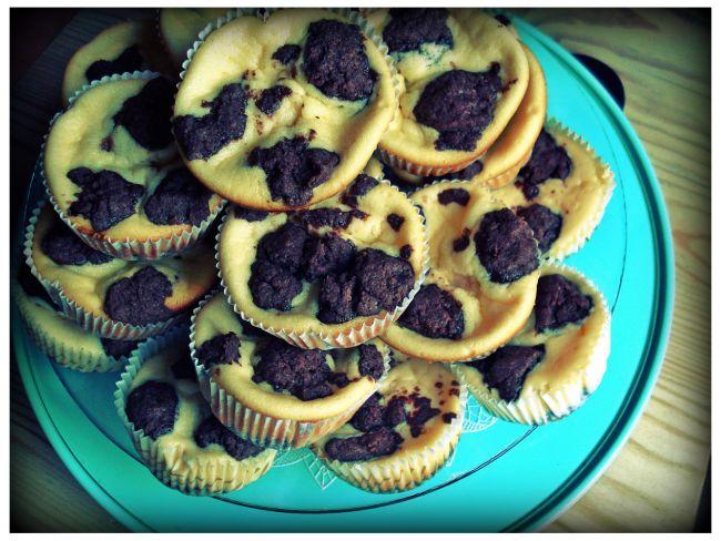 Russischer Zupfkuchen in Muffin-Form. Niedlich!