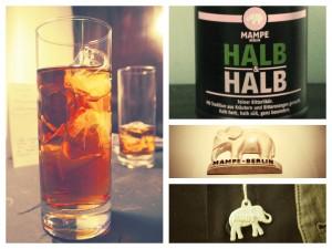 Nachts im Mampe Museum: Mampe mit Ginger Ale, Mampe Halb&Halb, Mampe Elefant