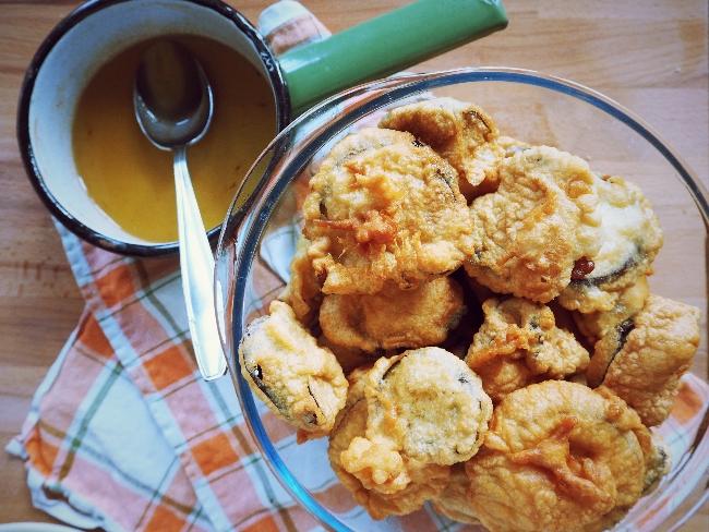 Aubergine: Gebacken mit Honig-Sherry-Soße